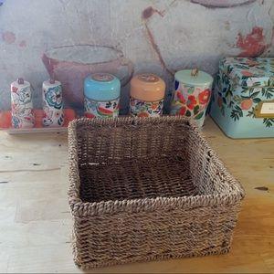 Square Napkin Size Basket